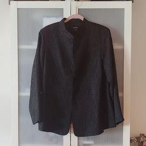 Textured Black dress blazer